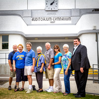 Old Gym Sign Dedication 06/10/15